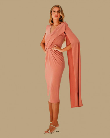VESTIDO CASILDA COLOUR NUDE