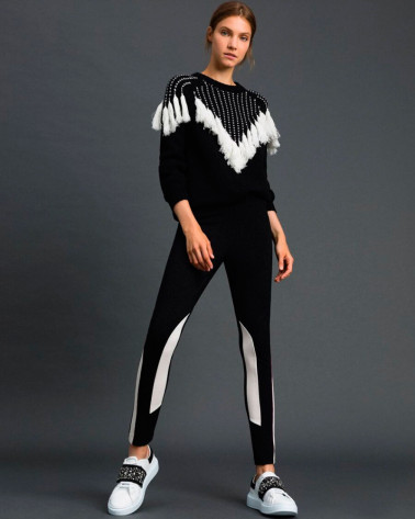 LEGGINGS COLOR BLOCK TWINSET